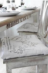 I cuscini Shabby Chic per le sedie, una gallery di idee per la vostra casa Arredamento Provenzale