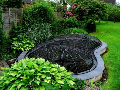 pond covers for winter predator proofing pond safety covers creative pond covers 4308