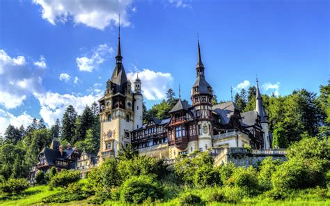 17 Peles Castle Hd Wallpapers  Backgrounds  Wallpaper Abyss