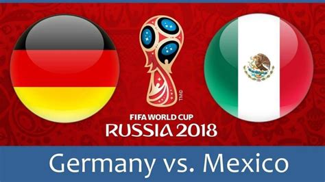 Live Updates FIFA World Cup 2018: Mexico stun Germany 1-0