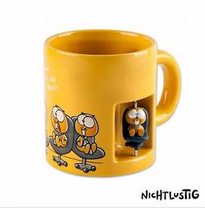 Nicht Lustig Tasse : nichtlustig tasse 3d b ro lemminge 9 cm ebay ~ Watch28wear.com Haus und Dekorationen