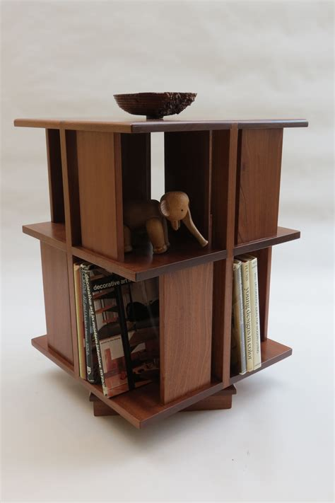 Rotating Bookcase Ikea by Revolving Bookcase In Afrormosia Decorative Modern