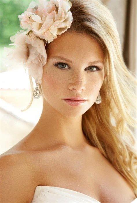 ideal wedding hairstyles  makeup ideas  blondes pretty designs