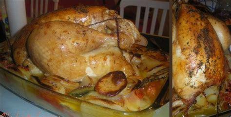 cuisine chapon roti chapon rôti au four mademoiselle laeti se met à la