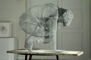 Simply Creative: Figurative Wire Mesh Sculptures by ...