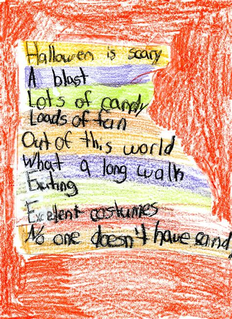 Halloween Acrostic Poem Ideas by Spelling And Writing