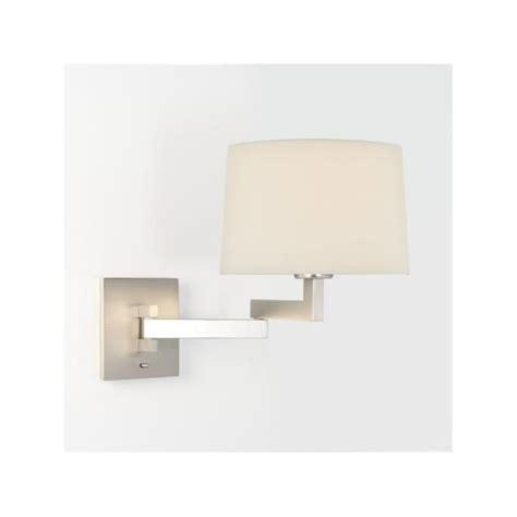 astro 0751 momo wall light matt nickel with shade