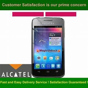 Alcatel One Touch 5020 Network Key    Enter Sim Me Lock