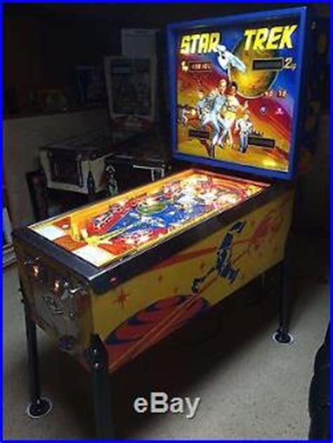 pinball machines blog archive  bally star trek
