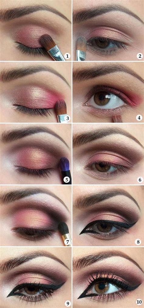 gorgeous step  step eye makeup tutorials   years eve