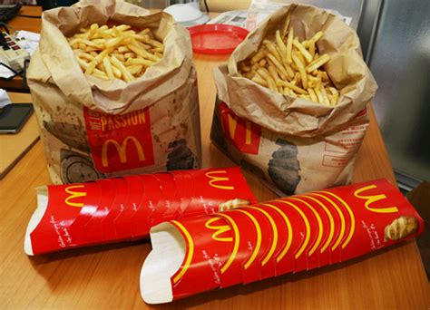 Is Mcdonald's Skimping On French Fries? We Weigh 6500g Of