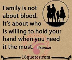 Quotes About No... Family Blood Quotes