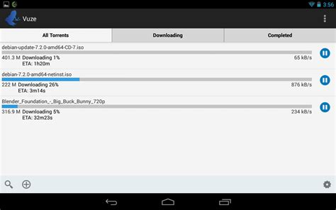 downloader android vuze torrent downloader app android su play