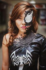 Female Anti Venom Cosplay