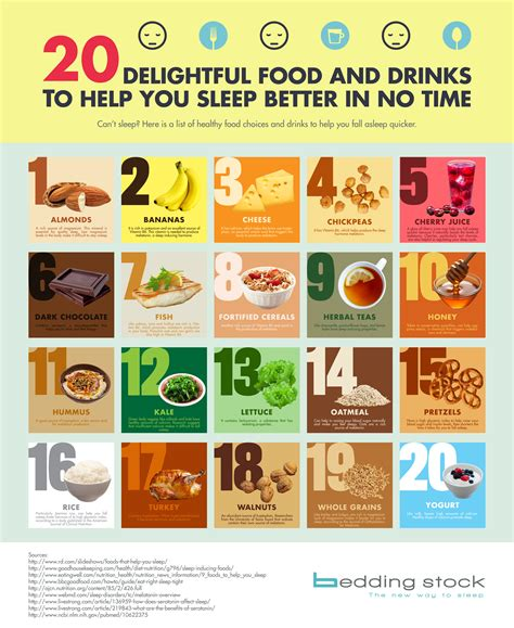 20 Delightful Food And Drinks To Help You Sleep Better In