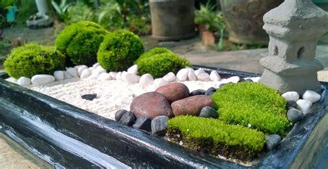 Zen Garten Miniatur by Brown Mini Zen Garden Diy Garden Zen Japanese