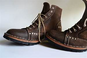 ankle boots men handmade in curried leather by mdesignworkshop With custom leather boots mens