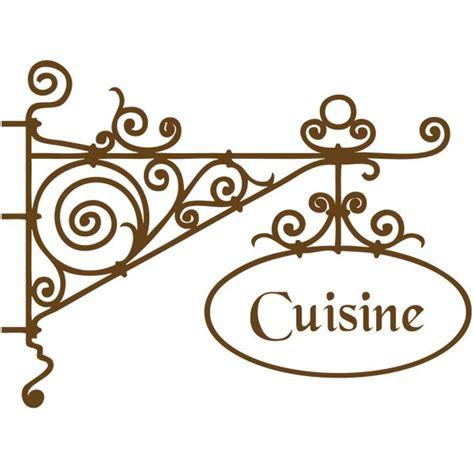 enseigne cuisine sticker enseigne cuisine deco cuisine destock stickers