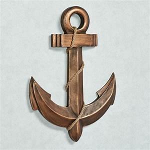 Anchors aweigh nautical wall art for Nautical wall decor