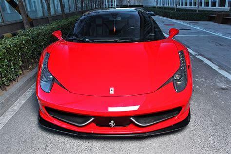 We have 53 ferrari 458 vehicles for sale that are description: Ferrari 458 Italia Italy Spider Carbon Grp Frontlippe Lip ...