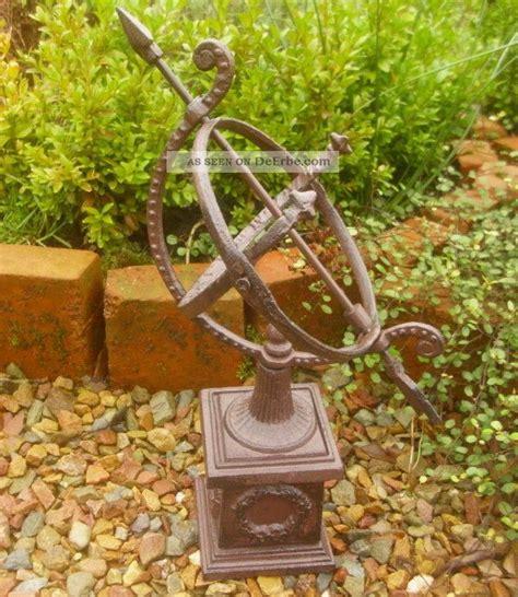 Garten Deko Landhausstil by Garten Sonnenuhr Mit Sockel Gusseisen Antik Nostalgie
