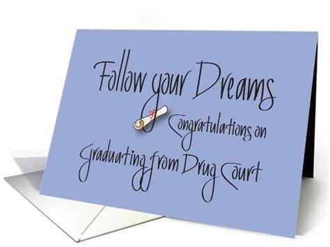 congratulations graduation  drug court follow