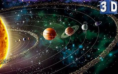 Solar System Planets Space App Android Screen