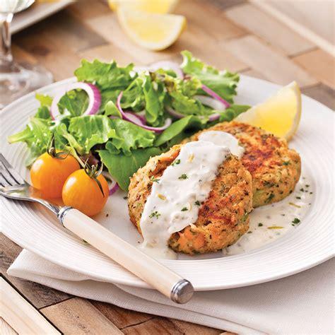 recette de cuisine saumon croquettes de saumon sauce citronnée recettes cuisine