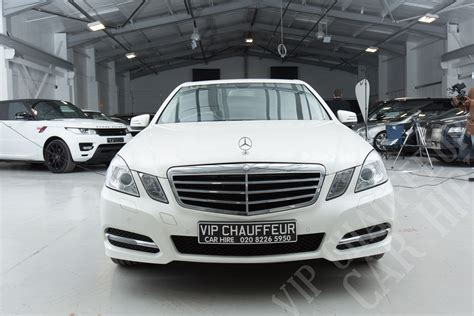 Chauffeur Hire by Hire One Of Our Chauffeur Driven Mercedes E Class Vip