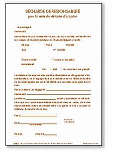 Lettre De Decharge Vente Automobile : decharge de responsabilite ~ Gottalentnigeria.com Avis de Voitures