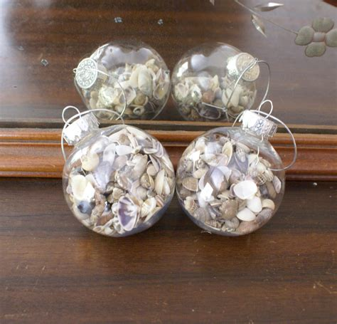 seashell ornament 2 christmas ornaments shell ornament