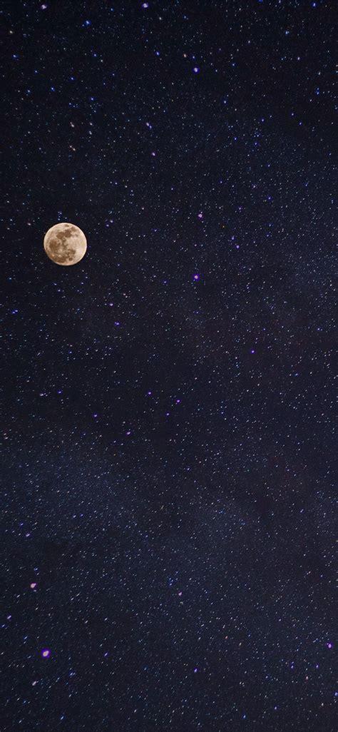 nv moon night space star nature wallpaper