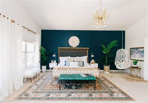 klassieke bohemian slaapkamer van alexandra huis