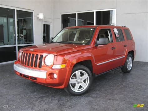orange jeep patriot 2008 sunburst orange pearl jeep patriot limited 12338940