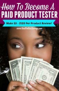 Paid Product Testing From Home by How To Become A Paid Product Tester Make Money