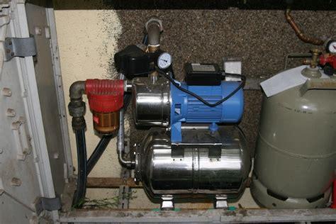 hauswasserwerk pumpe anschliessen eckventil waschmaschine