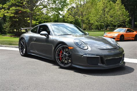 porsche gt3 gray 2015 porsche gt3 in agate grey metallic hunting ridge motors