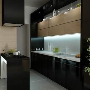 kleine kuche einrichten perfekte organisation beim kochen With kitchen colors with white cabinets with nyc sticker printing