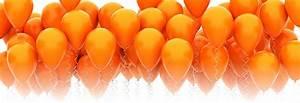 Image Gallery orange balloons