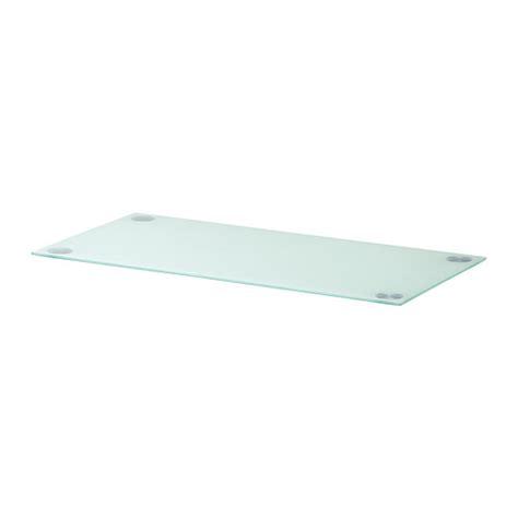 plateau bureau ikea glasholm plateau verre blanc ikea