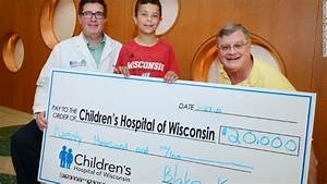 Wisconsin Boy Raises $20,000 for Children's Hospital | KTLA