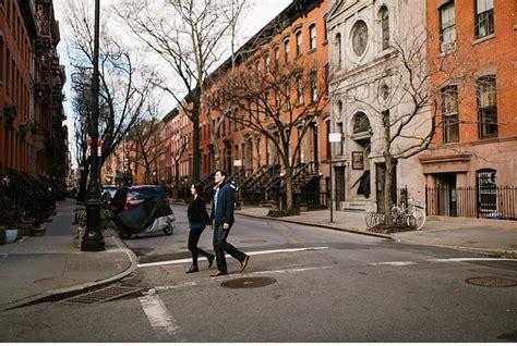 edgy moody new york city engagement alexandra joseph selman photographer