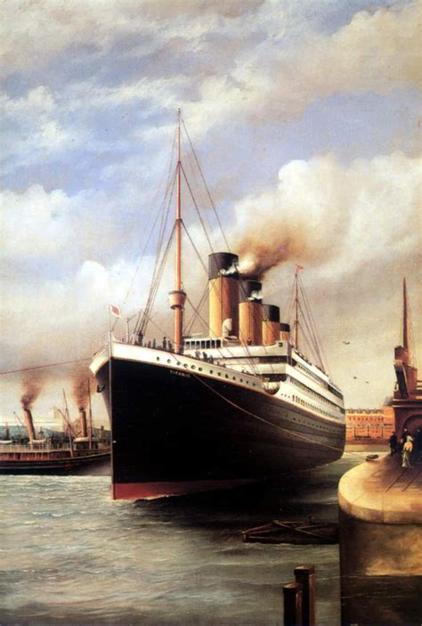 maritimequest titanic  postcards page
