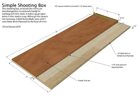shooting board woodworking blog  plans
