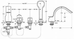 Ideal Standard Badewannenarmatur : ideal standard melange 4 loch armatur a4293 f r wannenrand megabad ~ Yasmunasinghe.com Haus und Dekorationen
