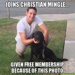 Christian Mingle Meme - meme