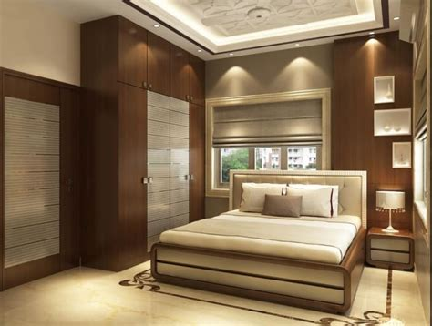 clap lights for bedroom modern bedroom with wooden designed wall and wardrobe by 14828   1489734226709 f6699a304cfd4c5433f5310004619927