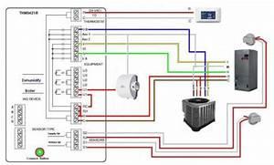 Wiring A Honeywell Prestige Iaq 2 0 - Hvac