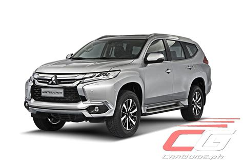 Mitsubishi Montero Sport by Mitsubishi Motors Philippines Adds More Features To