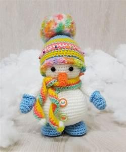 Snowman [Amigurumi Free Crochet Pattern] Crafts Ideas